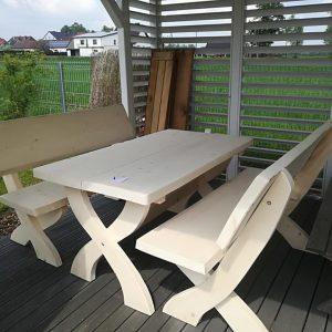 Stół + ławy